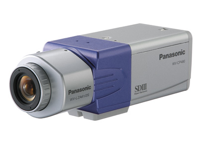 Panasonic WV-CP480 1/3 CCD Color Static Surveillance Camera